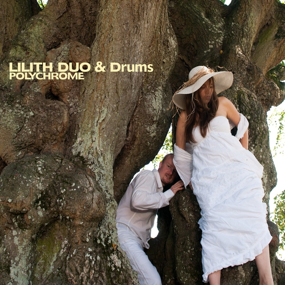 pochette lilith duo and drums polychrome
